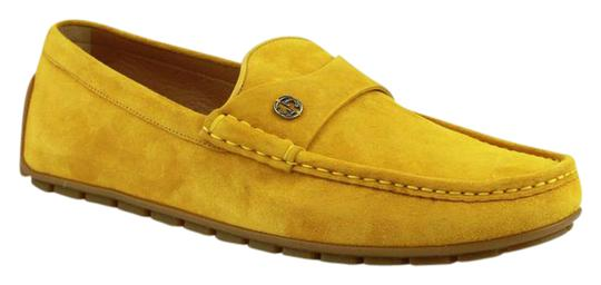 Preload https://img-static.tradesy.com/item/21575634/gucci-yellow-suede-leather-loafer-winterlocking-g-9g-us-95-386587-7008-shoes-0-1-540-540.jpg