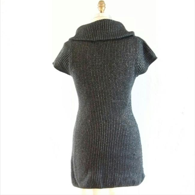 INC International Concepts short dress Dark Grey Silk Rabbit on Tradesy