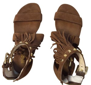 Michael Kors brown suede Sandals
