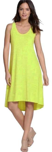 Preload https://item2.tradesy.com/images/eileen-fisher-yellow-comfy-tank-short-casual-dress-size-2-xs-21575701-0-8.jpg?width=400&height=650