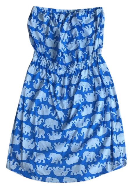 Preload https://item3.tradesy.com/images/lilly-pulitzer-blue-elephant-sleeveless-short-casual-dress-size-4-s-21576377-0-1.jpg?width=400&height=650