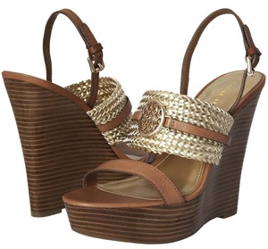 Coach Beatriz Wedge Ginger Gold Wedges