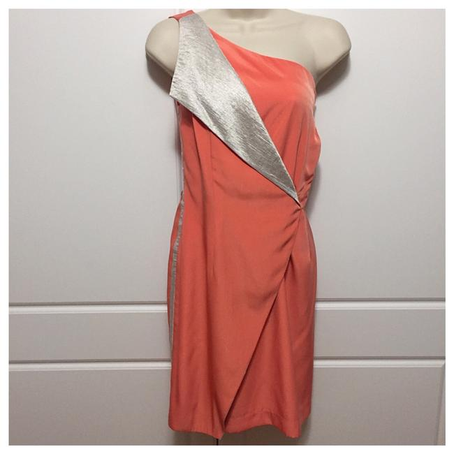 Preload https://item3.tradesy.com/images/sachin-babi-peach-faux-wrap-night-out-dress-size-8-m-21576537-0-0.jpg?width=400&height=650