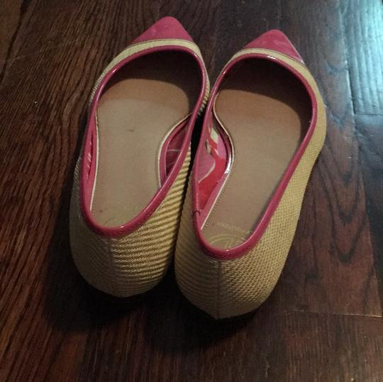 Lilly Pulitzer Pink and beige Flats