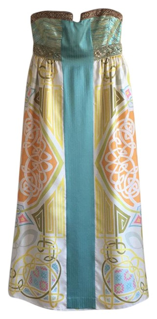 Preload https://item3.tradesy.com/images/nicole-miller-orange-yellow-blue-green-0000-long-cocktail-dress-size-4-s-21576727-0-1.jpg?width=400&height=650