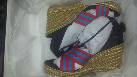 Marc Jacobs Blue-Red Sandals