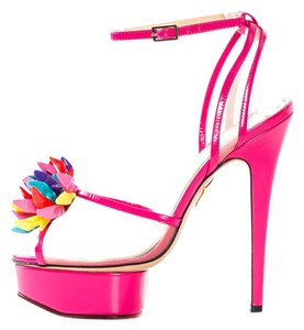 Charlotte Olympia Pink Sandals