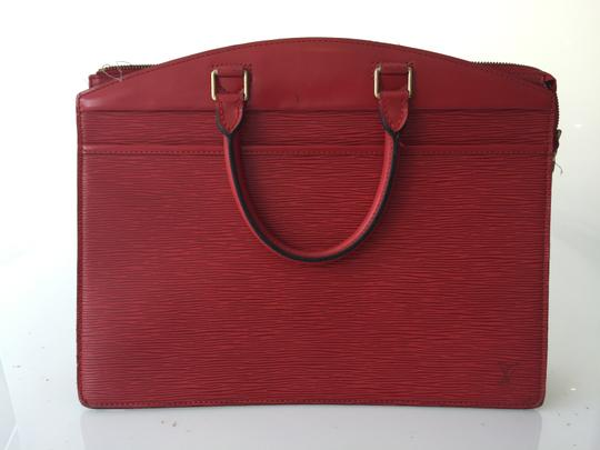 Preload https://item1.tradesy.com/images/louis-vuitton-riviera-red-epi-leather-satchel-2157685-0-1.jpg?width=440&height=440