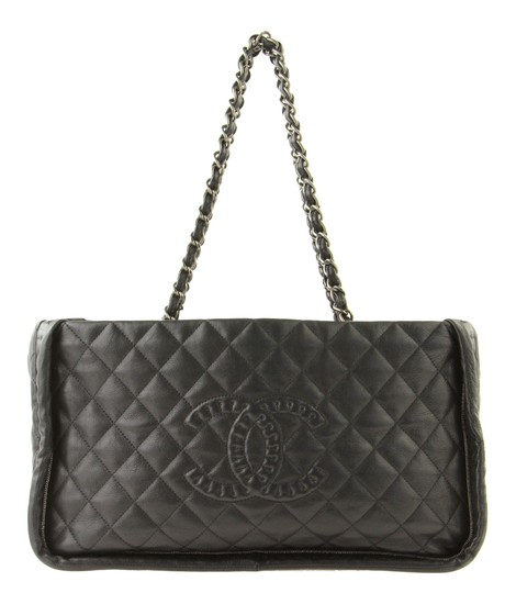 Preload https://item2.tradesy.com/images/chanel-istanbul-small-black-leather-tote-21576871-0-2.jpg?width=440&height=440
