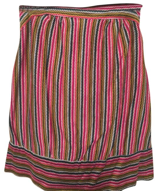 Preload https://item1.tradesy.com/images/trina-turk-magenta-lime-green-teal-etc-strapless-blouse-size-4-s-21576900-0-1.jpg?width=400&height=650