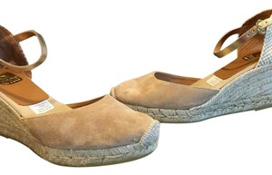 Kanna tan/beige Wedges