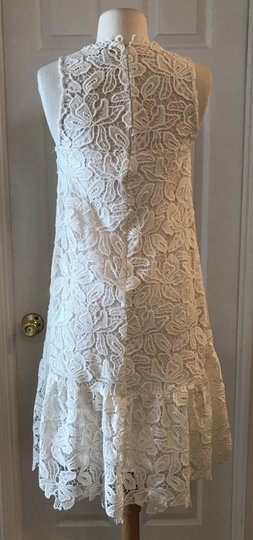 Anthropologie White Yoana Baraschi Bhldn Riley Xs Bridesmaid/Mob Dress Size 0 (XS)