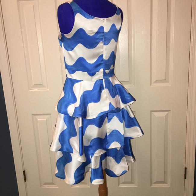 Kirribilla Blue & White Silk Dress Dress