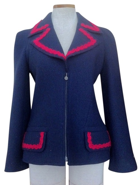 Chanel Navy Jacket