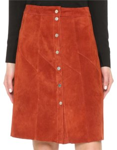 A.L.C. Skirt red