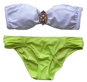 Victoria's Secret Victoria's Secret Brooch Embellished Bikini Set New Without Tags Never Worn