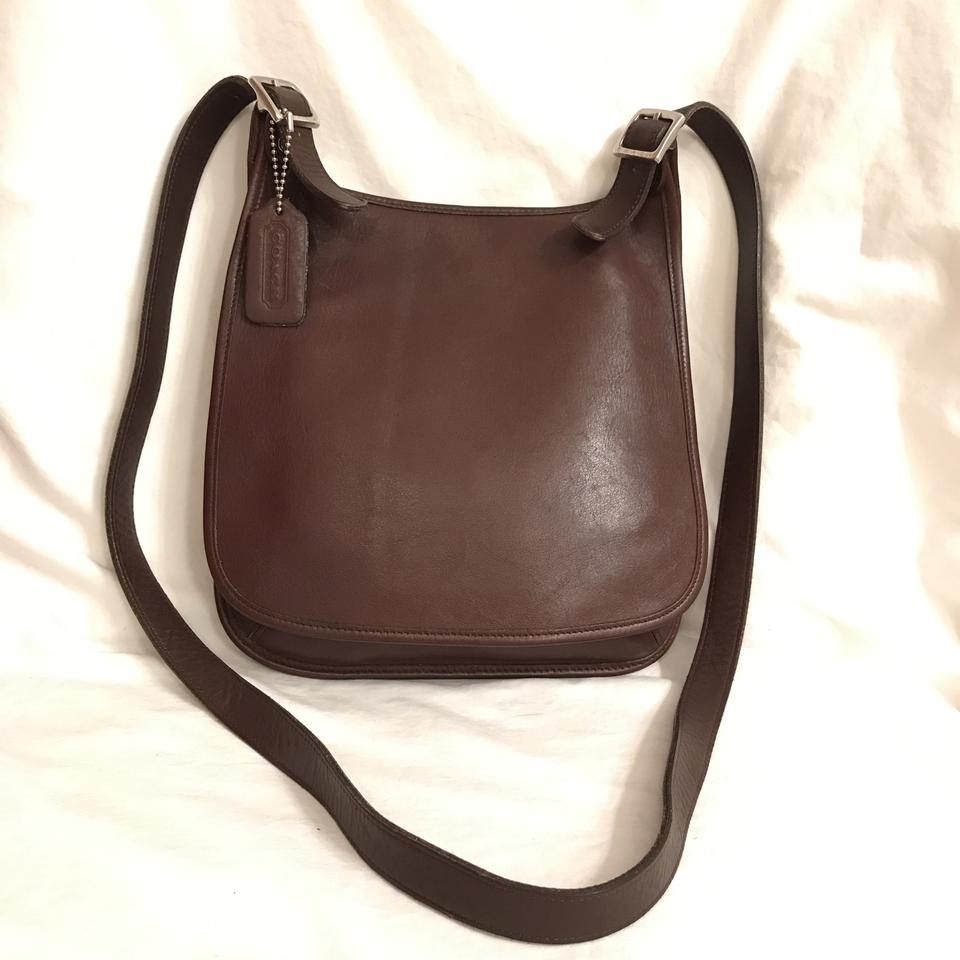 Coach Vintage Saddlebag Purse Handbag Messenger Cross Body Bag