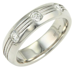 Hearts on Fire 11342 - Hearts On Fire Men's Duets Burnished Diamond 18k Gold Ring