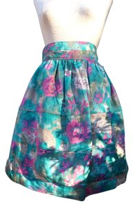 Elizabeth and James Full Tea Party Printed Skirt Floral