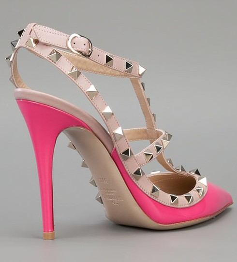 Valentino In Box PINK Pumps Image 4