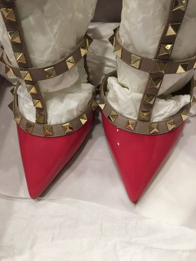 Valentino In Box PINK Pumps Image 5