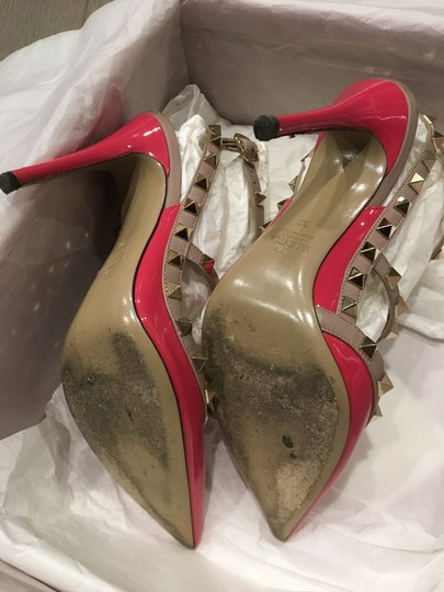 Valentino In Box PINK Pumps Image 7