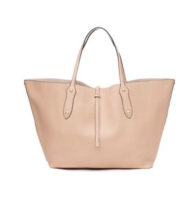 Annabel Ingall Isabella Large Leather Tote in Almond