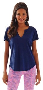 Lilly Pulitzer T Shirt Navy Blue