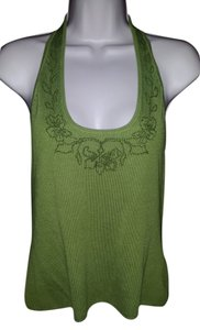 Tommy Bahama Green Halter Top