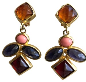 Kara Ross Clip Chandelier earrings