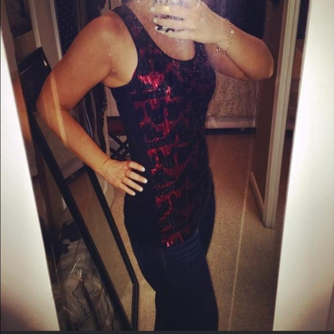 Forever 21 Top Red and Black