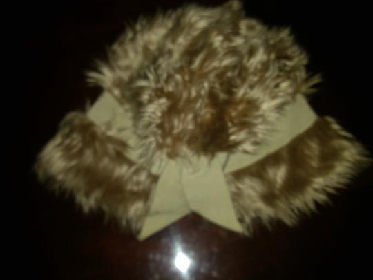 Other Vintage Faux Fur Top Hat with Ribbon Bow Image 6