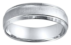 Jared White Gold Stunning Ring Men's Wedding Band