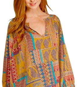 Threads 4 Thought Cute Chic Pesant Top paisley pattern
