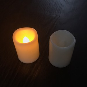 100 Flameless Votive Candles