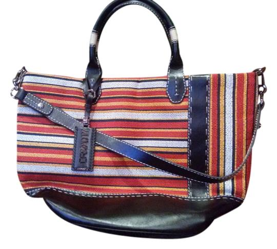orYANY Tote in multi..red..white..yellow