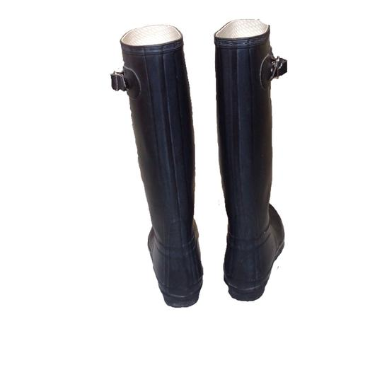 Hunter Black Boots Image 3