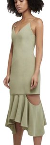 C/meo Collective Cutout Fitted Dress