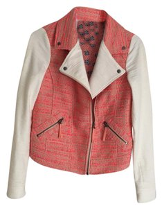 Elevenses pink and white Jacket