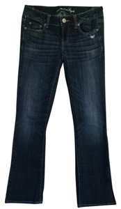 American Eagle Outfitters Boyfriend Cut Jeans-Medium Wash