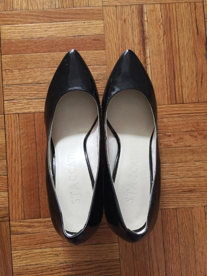 5cb9f256a70c Black Staccato Wedges Size US 6 - Tradesy