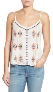 Hinge Embroidered Camisole Nordstrom Cream Top Ivory