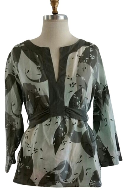 Preload https://item4.tradesy.com/images/cadeau-mint-green-and-grey-print-maternity-blouse-size-16-xl-plus-0x-2158258-0-0.jpg?width=400&height=650