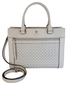 Kate Spade Crossbody Bone Satchel in Bone White