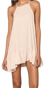 Love Culture short dress Backless Summer Tan Or Cream Color on Tradesy