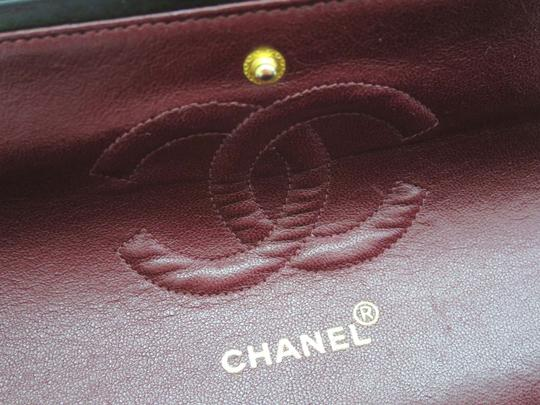 Chanel Classic Double Flaps Medium Lamb Skin Stock016240 Shoulder Bag Image 8