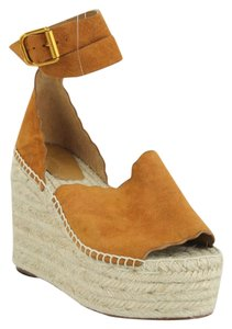 Chlo Tan Wedges