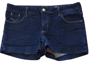 H&M Shorts Solid Dark Wash
