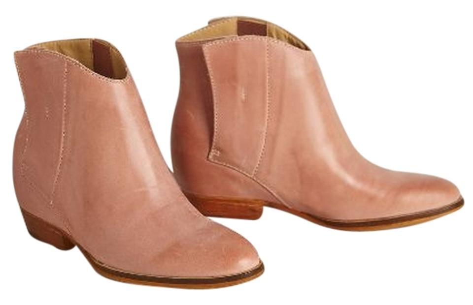 2a24d0af342 Anthropologie Taupe Latigo Aria Hidden-wedge Boots Booties Size US ...
