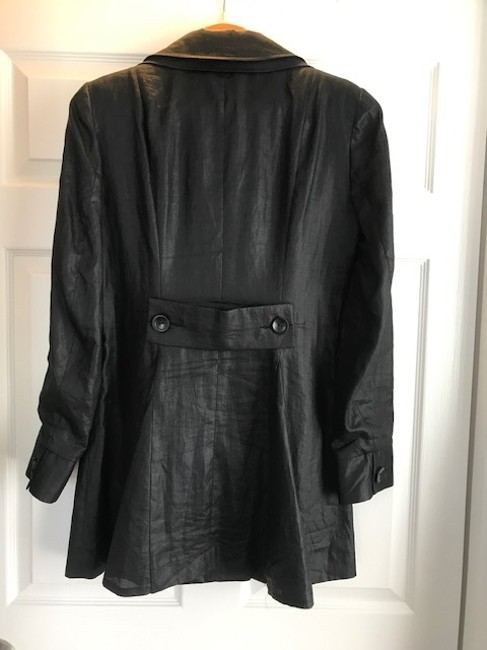 Anne Fontaine Linen Black Jacket